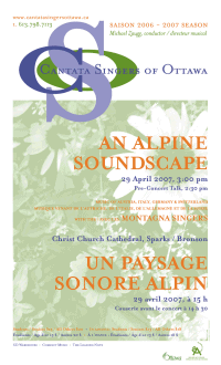 Download the poster for the April 29 concert An Alpine Soundscape