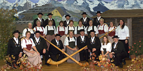 The Ottawa Valley Swiss choir, the Montagna Singers