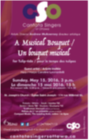 poster for A musical bouquet for Tulip-tide