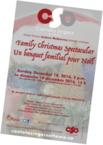 Family Christmas Spectacular poster
