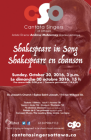 poster for Shakespeare in Song