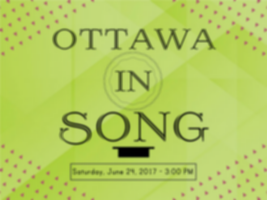 poster for Ottawa in Song